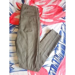 Size Small-Green Skinny Jeans